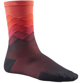 Mavic Cosmic Graphic Socks fiery red
